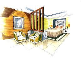 Interior Design Drawing Impressive Interior Perspective Lauren R Cole Portfolio