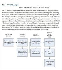 Information Security Risk Assessment Template   Professional ...