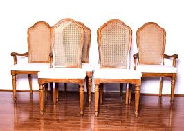vintage cane back dining chairs set of six cane back dining chairs restoration hardware vintage french
