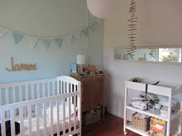 Comfy Baby Nursery Decorative Ideas For Baby Boy Room Ideas Added White  Painted Cribs As Well As White Wood Shelves Cart In Small Space Baby Boy  Room Decors