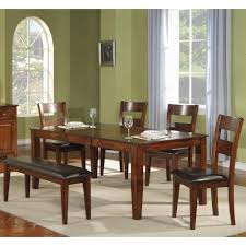 table 4 chairs and bench. holland house ellis table + 4 chairs bench and a