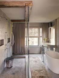 rustic modern bathroom. Rustic Modern Bathroom Freestanding Tub Reclaimed Beams E