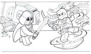 Lego joker coloring pages to print. Free Printable Ninjago Coloring Pages For Kids Lego Spinjitzu Masters Slam Monastery Lloyd First Jay Sets Of Oguchionyewu