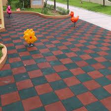material rubber type matt tiles size 607 593 5 15 23mm thickness 15 30mm surface treatment matt function waterproof wear resistant non slip