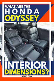 Maybe you would like to learn more about one of these? What Are The Honda Odyssey Interior Dimensions