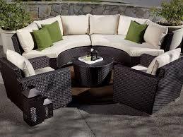 curved loveseat patio furniture