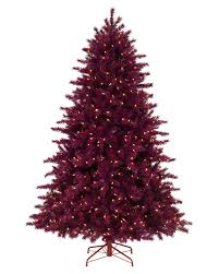 Artificial Red Christmas Trees  Christmas Lights DecorationRed Artificial Christmas Trees