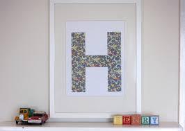 alt on framed monogram letter wall art with diy framed letter wall art