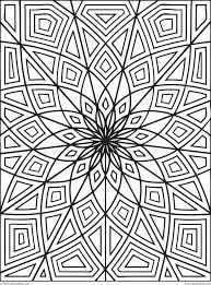 There are many high quality coloring pages on any topic. Free Printable Geometric Design Coloring Pages Coloring Home