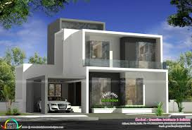 Simple Square House Design Cute Simple Contemporary House Plan Kerala Home Design And