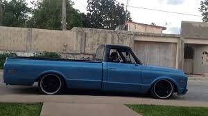 Chevy C10 1970 5.7 - Bagged Air Ride - YouTube