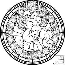Small Picture SG Pinkie Pie coloring page by Akili Amethyst on DeviantArt
