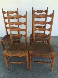 bunch ideas of d d s cottage and design 4 ladder back chairs with rush seats stunning ladder back chairs with rush seats