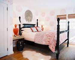 eclectic bedroom furniture. bedroom eclectic furniture black and orange rule in an