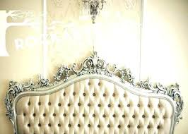 Bed Frames Upholstered Queen Headboard Within Wonderful Gray Fancy ...