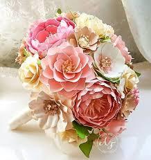 Paper Flower Bouquet Etsy Paper Bouquet Paper Flower Bouquet Wedding Bouquet Etsy