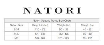 Natori Size Chart Natori Wool Regent Sweater Tights