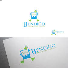 Graphic Design Bendigo Elegant Playful Logo Design For Bendigo Floor Cleaning