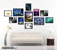 11 piece multi picture frame photo