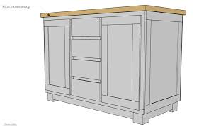 get the kitchen you ve always dreamed of by building this diy kitchen island