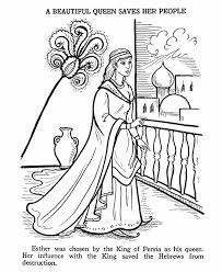 Small Picture Ester Bible Story Coloring Page Esther Bible Lessons Pinterest