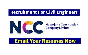 Nagarjuna Construction Company Limited Recruitment For Civil ...