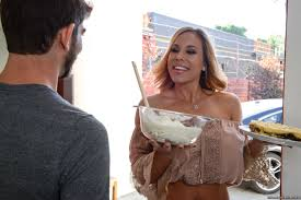 What A Babe Olivia Austin In Jeans Put Cream On Herself Dirty Whip.