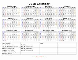 Fiscal Calendar 2018 Yearly Calendar 2018 Free Download And Print ...
