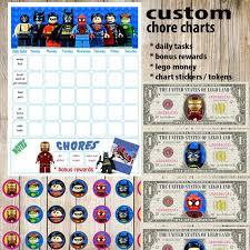 Lego Batman Reward Chart Kids Chore Chart Lego Superhero Planner Kids Reward Chart Responsibility Chart Positive Behavior Chart Star Chart Kids Planner Weekly Chart