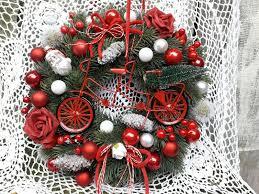 Türkranz Handarbeit Weihnachten Weihnachtsdeko