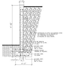 Small Picture Masonry Retaining Wall Design Home Design Ideas