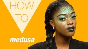 how to medusa makeup 2017