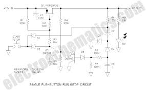 single pushbutton run stop circuit single pushbutton run stop circuit schematic
