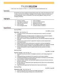 Director Of Security Resume Examples Best Security Officer Resume Example LiveCareer Security Resume 14