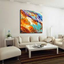oversized abstract canvas print boho wall decor pastel extra large wall art  on oversized print wall art with colorful extra large wall art oversized abstract metal print