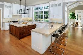 One Wall Kitchen Designs With An Island Plans Custom Ideas