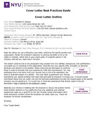 005 Essaymple Appealing Nyu Cover Letter Sample With