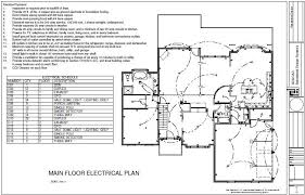 electrical layout plan of residential building dwg house plans