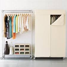 no bedroom closet no problem try these solutions for storing your clothes