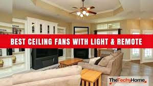 best rated ceiling fans with light and remote top canada