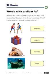 Words With Photo Words With A Silent W