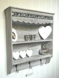 wall shelves with hooks shabby chic wall unit shelf storage cupboard cabinet hooks french vintage style ikea wall shelf with 6 hooks