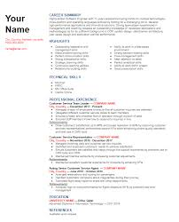 Skills On Resume Examples Chronological Functional Or Combination Resume Format Pick