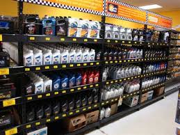 oil rack display