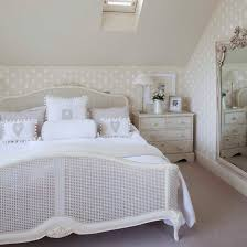 glamorous bedroom furniture. white french double bed in vintage-style bedroom glamorous furniture
