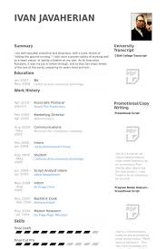 Fascinating Sports Producer Sample Resume With Additional 1