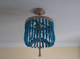 sophisticated turquoise beaded chandelier turquoise beaded chandelier design ideas pertaining to awesome household blue beaded chandelier