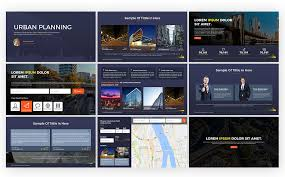 Planning A Presentation Template Urban Planning Presentation Powerpoint Template 69311