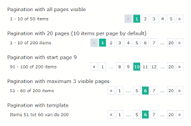 A Vue Pagination Component Build With The Css Framework