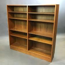 danish modern bookcase mid century teak bookcase mid century modern wall shelves diy